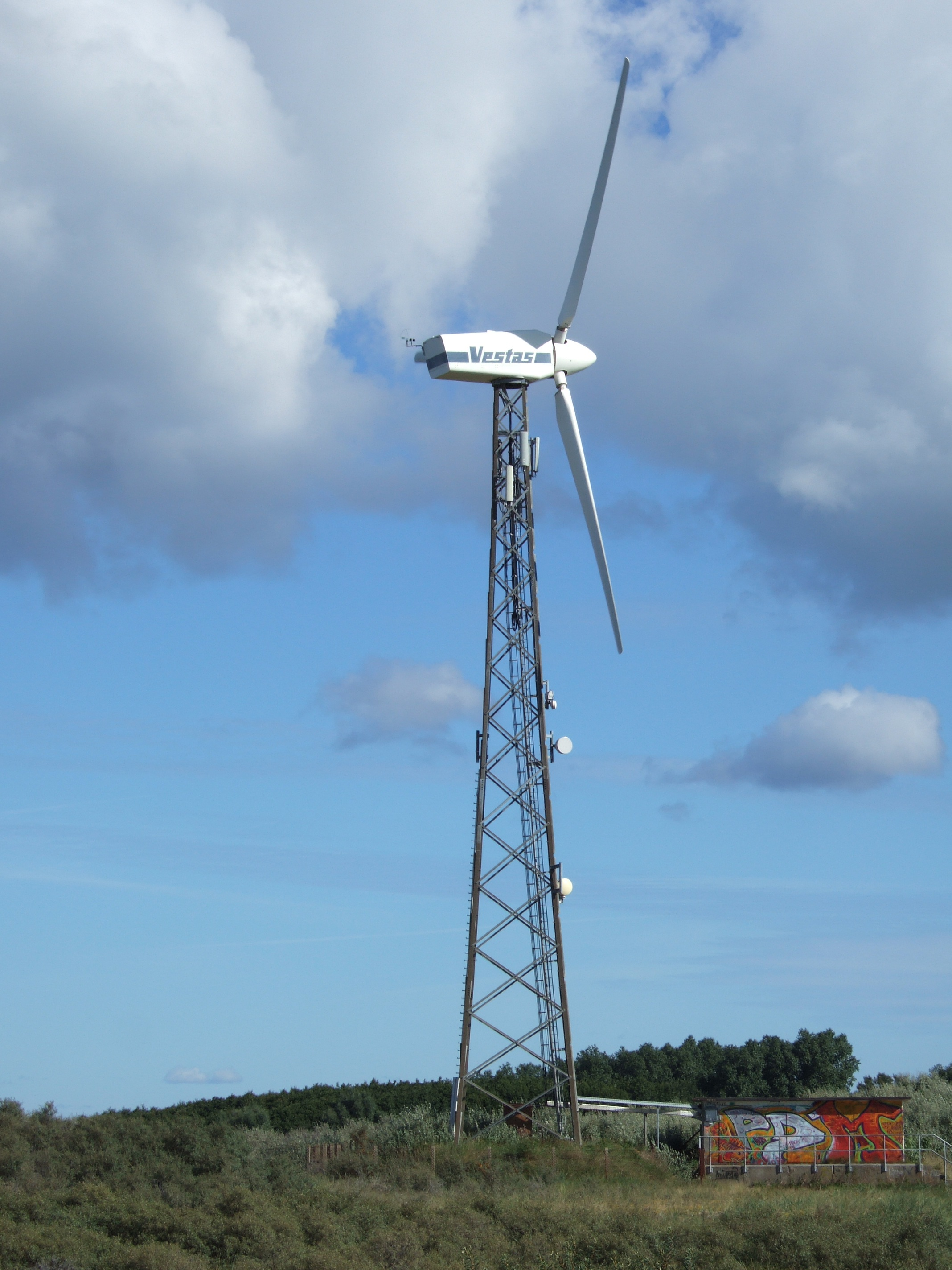 What Is Gear Ratio >> Vestas V27 - 225,00 kW - Wind turbine