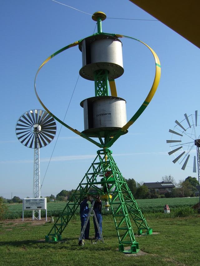 Dornier Darrieus Savonius 5 5 Kw 5 50 Kw Wind Turbine