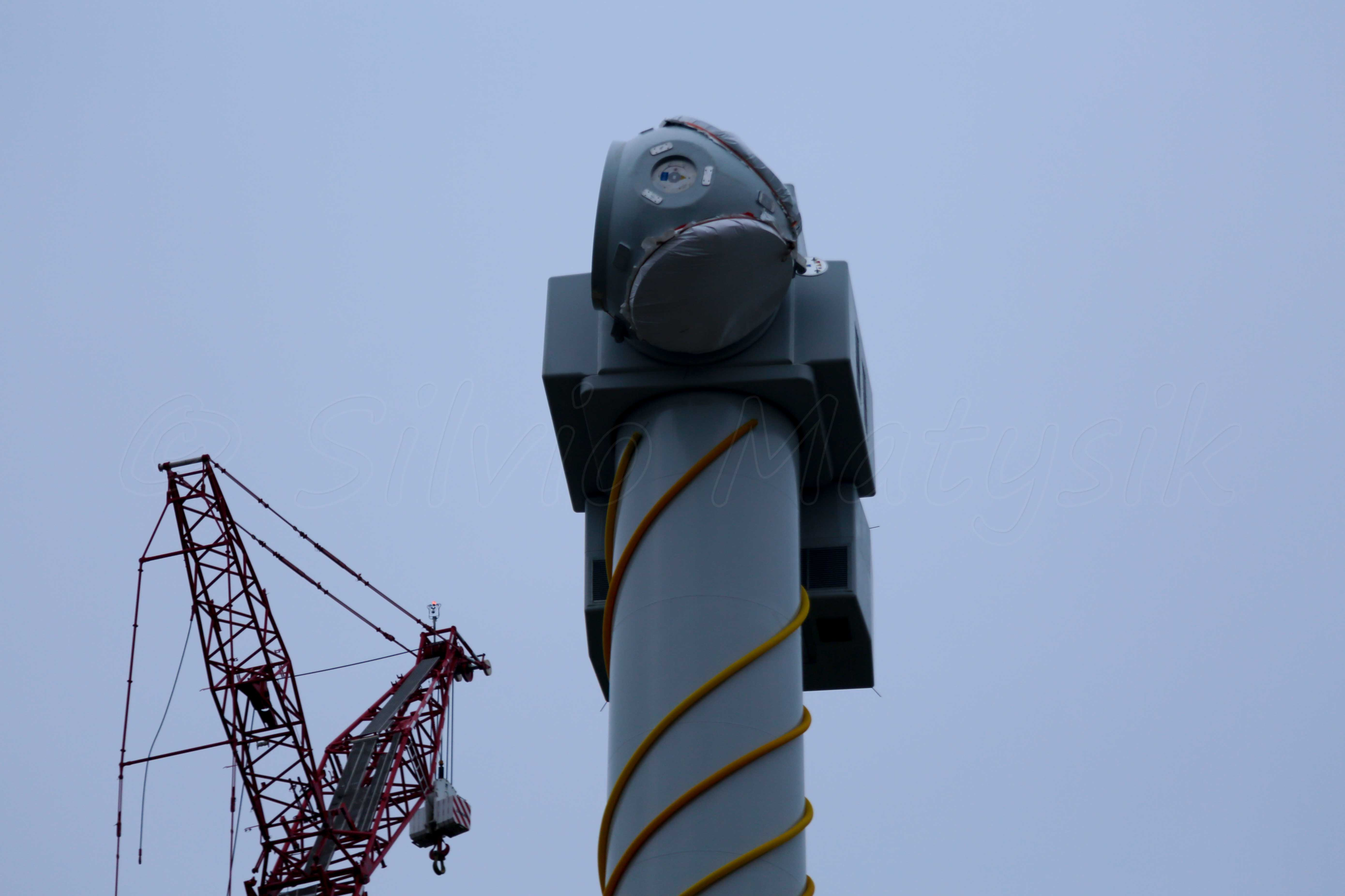 General Electric GE 4 8-158 - 4,80 MW - Wind turbine