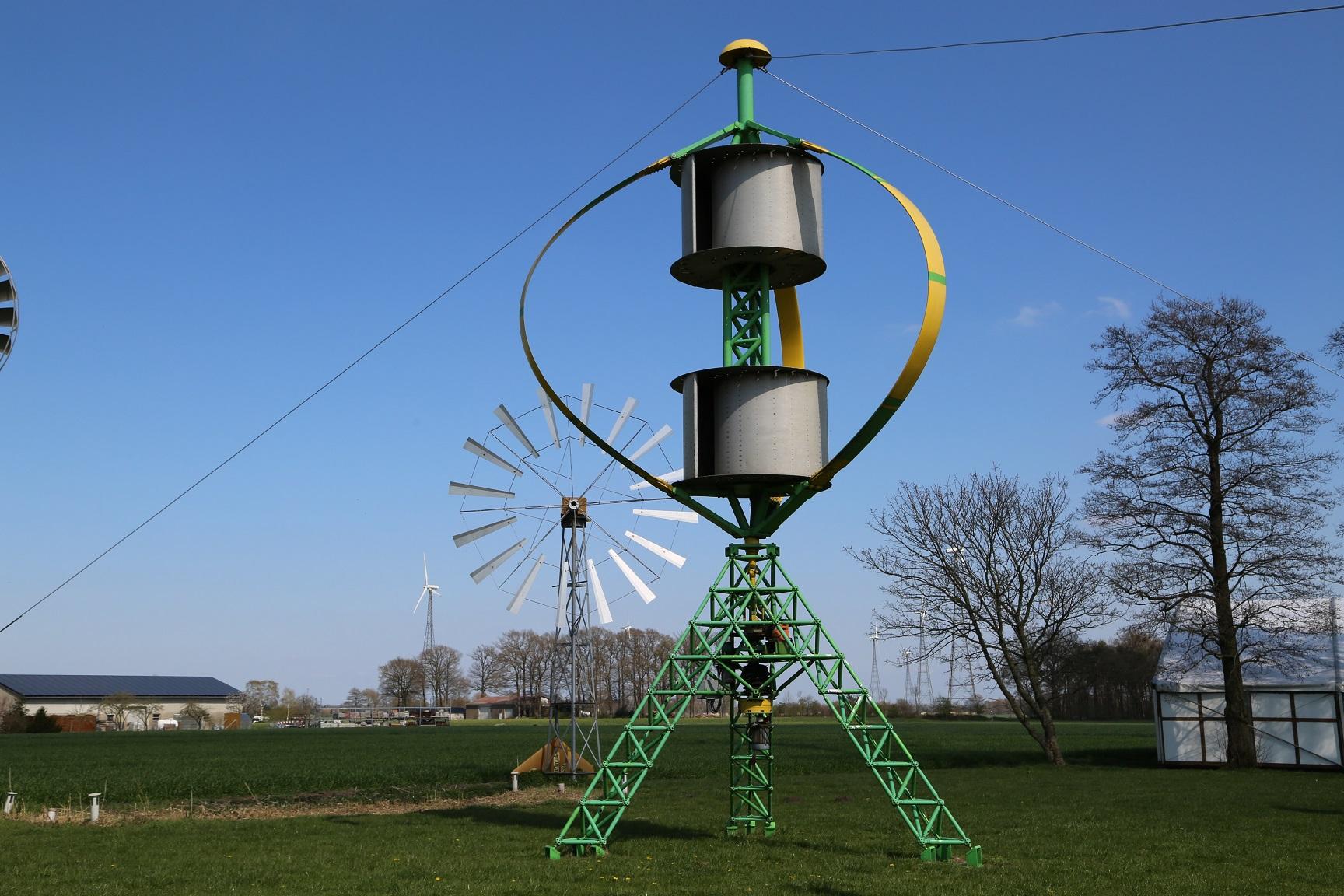 Dornier Darrieus/Savonius 5,5 kW - 5,50 kW - Wind turbine
