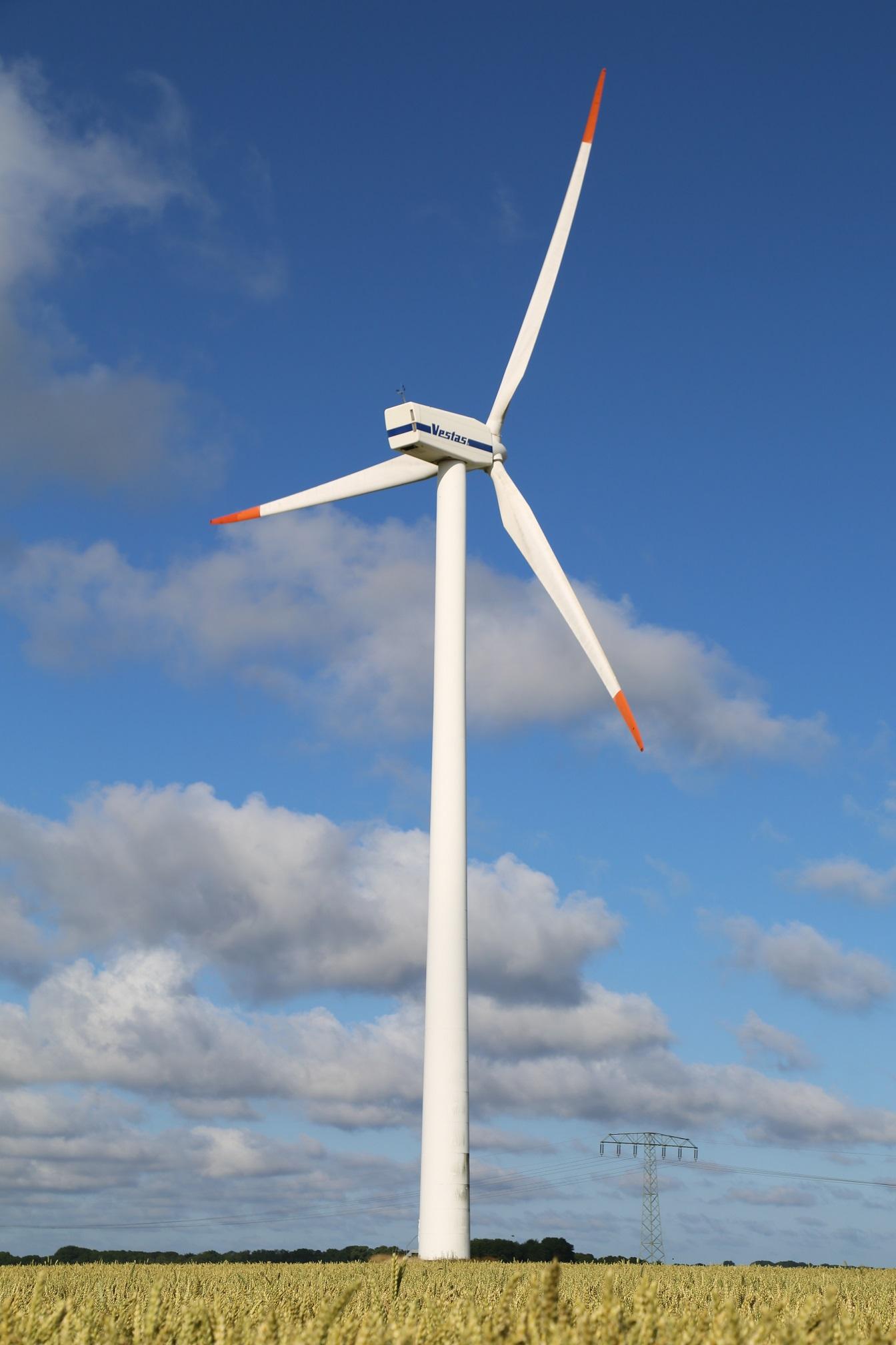 Wind Turbine System : Vestas v mw wind turbine
