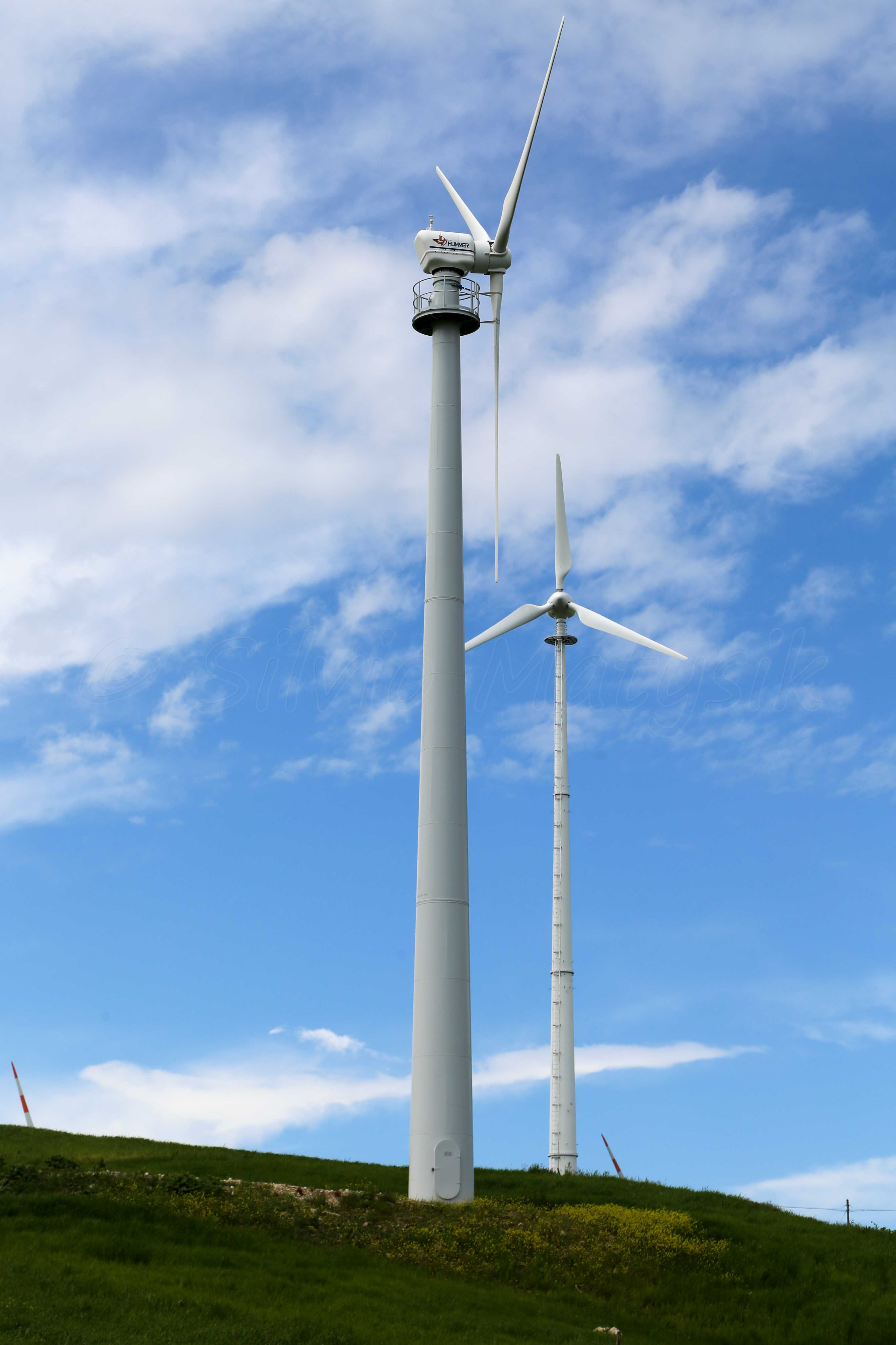 Hummer H25 0 100KW 100 00 kW Wind turbine