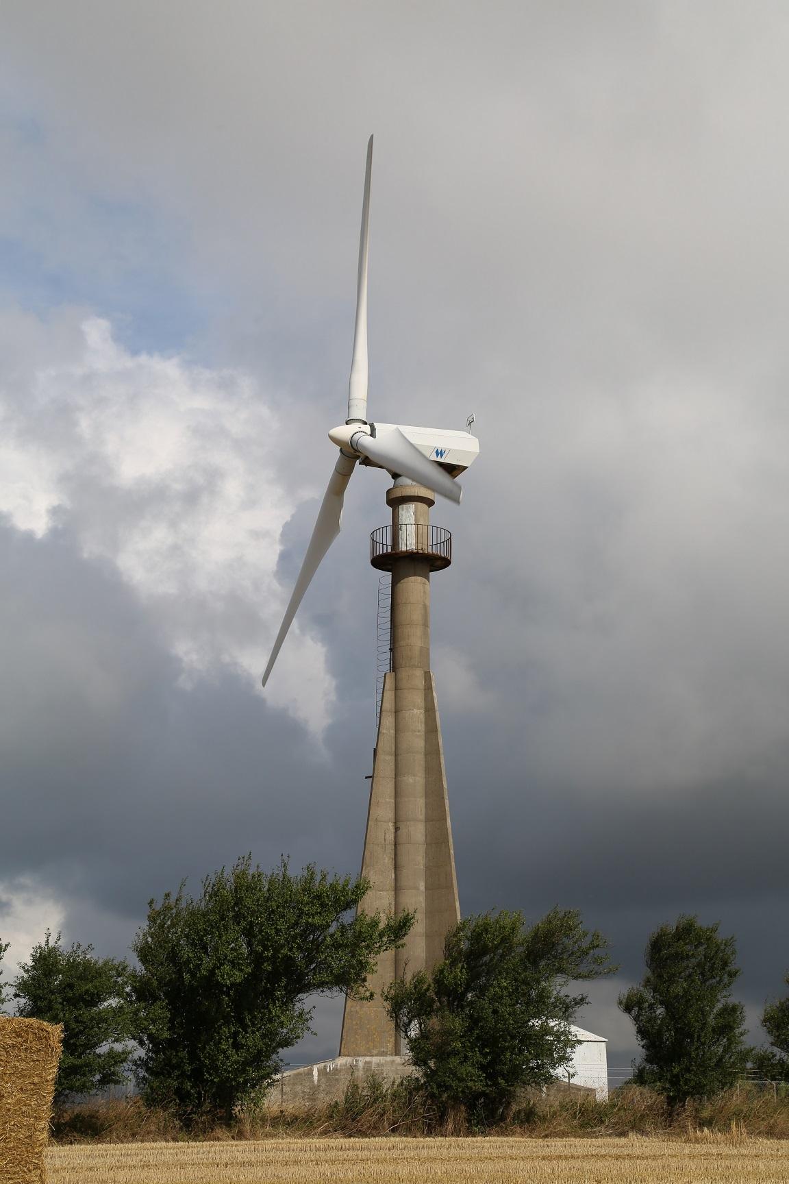 Elsam Gedser Prototype 200 00 Kw Wind Turbine