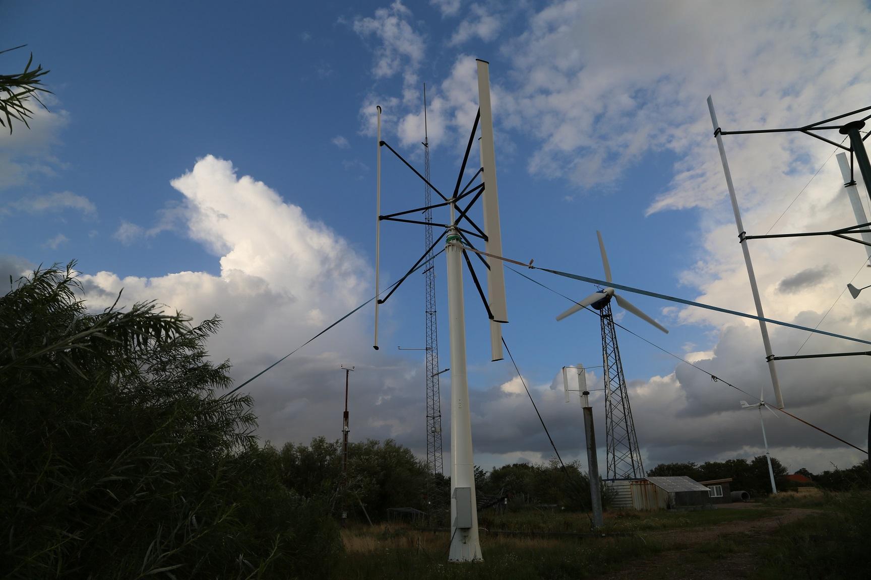 Haue Eco Sign / Vertical Axis Wind Turbine Generator - Wind turbine