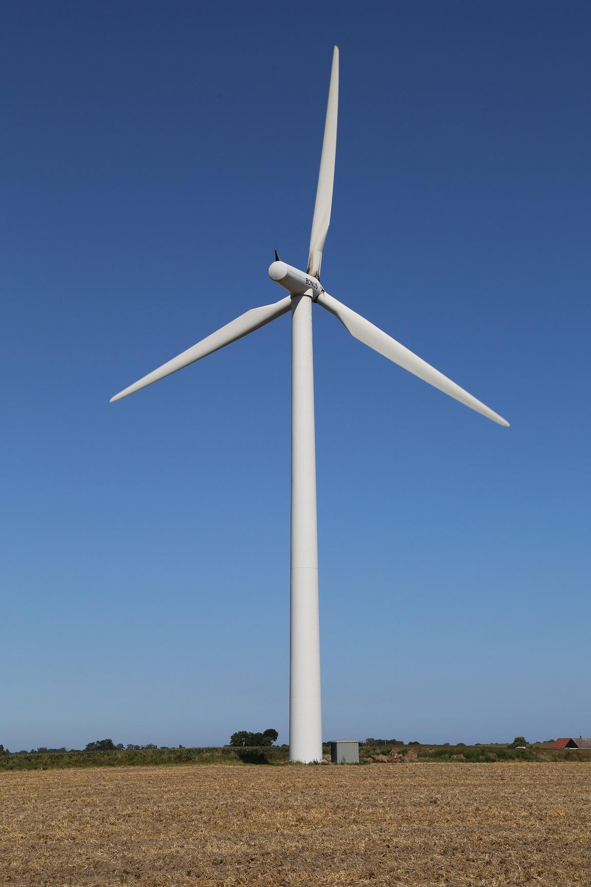 Bonus B54 1000 1 00 MW Wind turbine