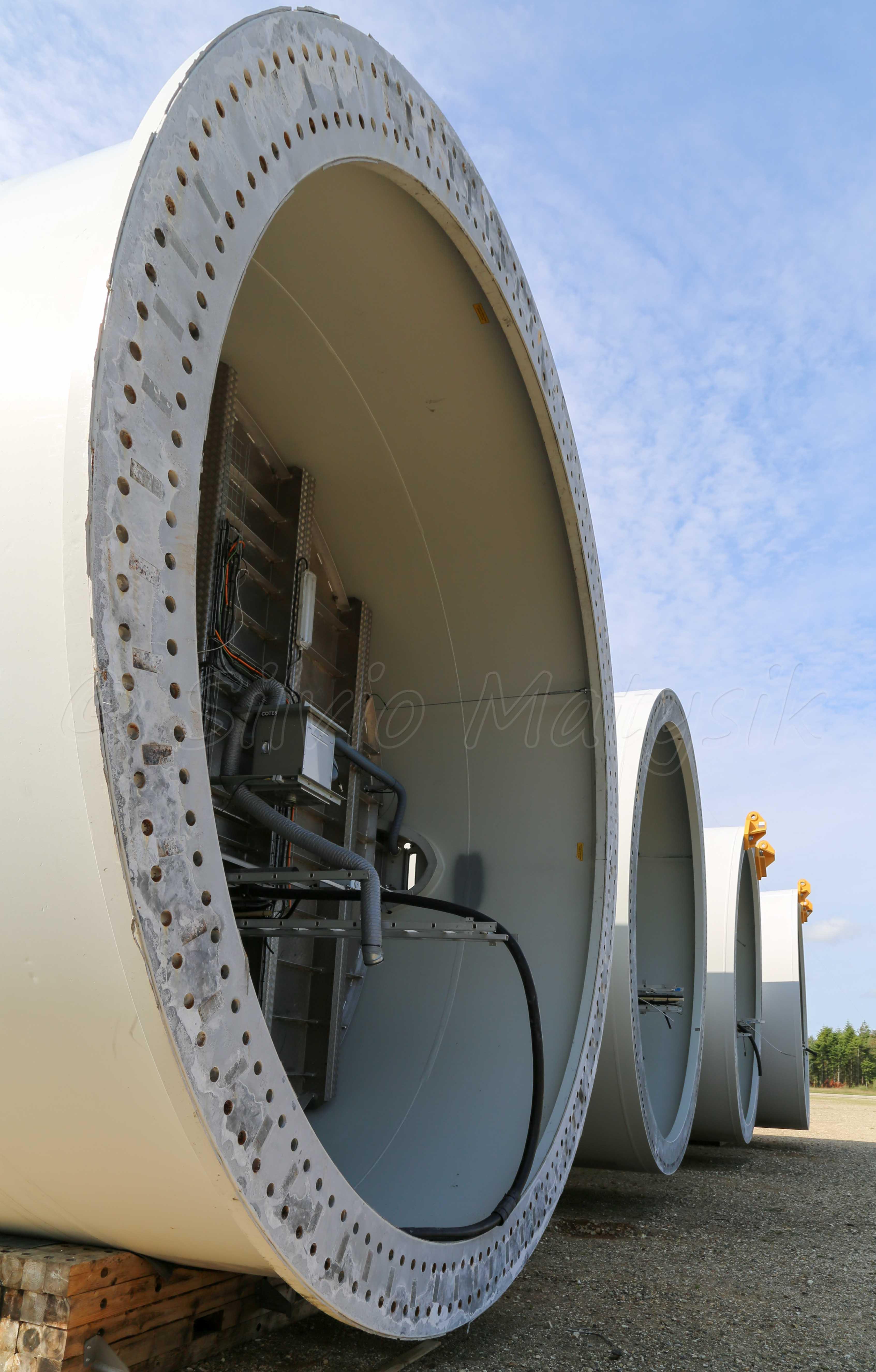 Siemens Swt 8 0 154 8 00 Mw Wind Turbine
